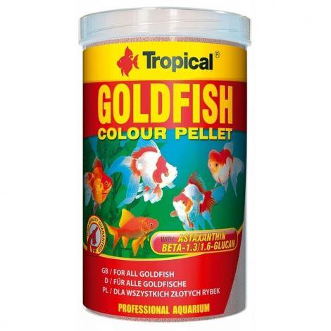 Tropical Goldfish Color 1000ml granule