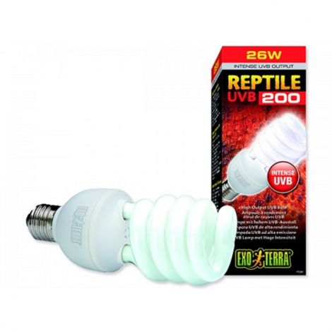 Žárovka Reptile UVB 200 25W