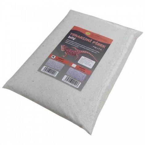 Terarijní písek bílý 4kg jemný Robimaus
