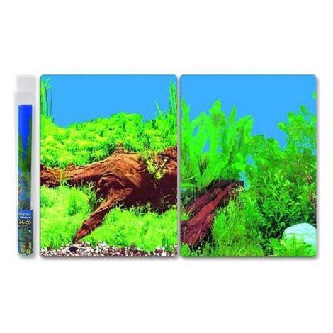 Pozadí oboustranné 40cm kořen/rostliny