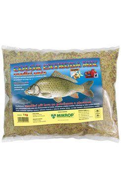 Color extruda mix Jahoda vnadící směs pro ryby 1kg