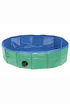Bazén sklád. nylon pes 120x30cm green/blue KAR