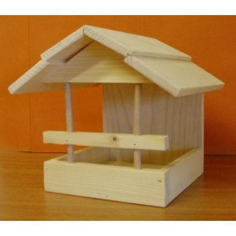 Krmítko venkovní stavebnice dřevo