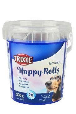 Trixie Soft Snack Happy Rolls tyčinky s losos 500g TR