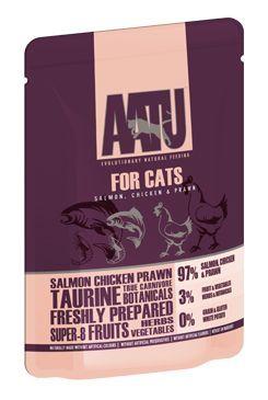 AATU Cat Salmon n Chicken n Prawn kaps. 85g