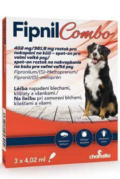 Fipnil Combo 402/361,8mg XL Dog Spot-on 3x4,02ml