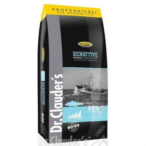 Best Choice 20kg Fisch+Rice Sensitive