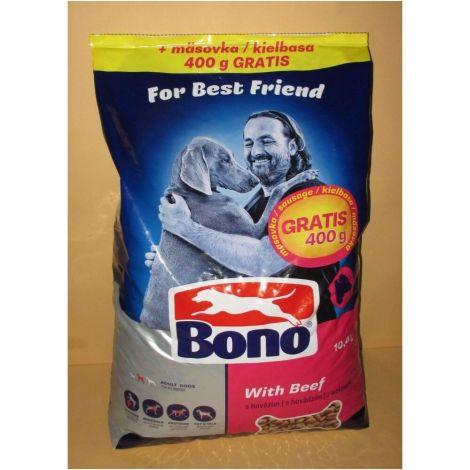 Bono 10kg  Adult hovězí + masovka zdarma
