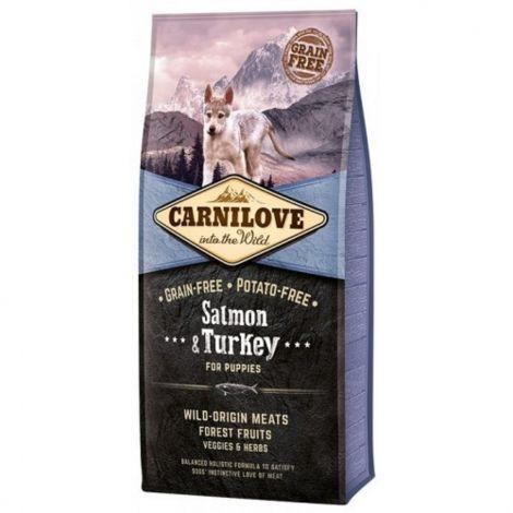 Carnilove 12kg Puppy Salmon+Turkey