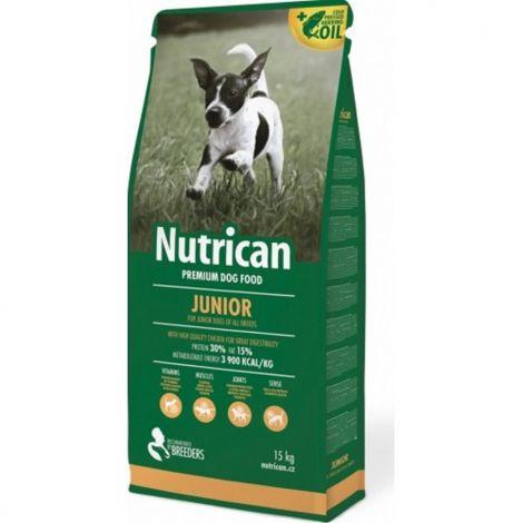 Nutrican 15kg Junior dog