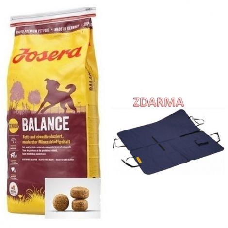 Josera 15kg Balance Senior + autopotah zdarma