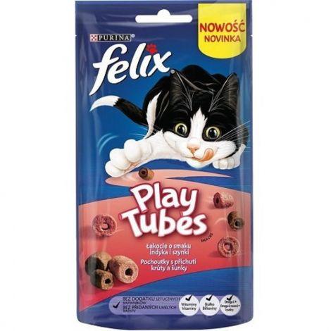 Expirace Felix Play Tubes 50g krůta a šunka