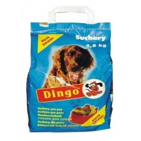 Expirace Dingo suchary  2,5kg standart