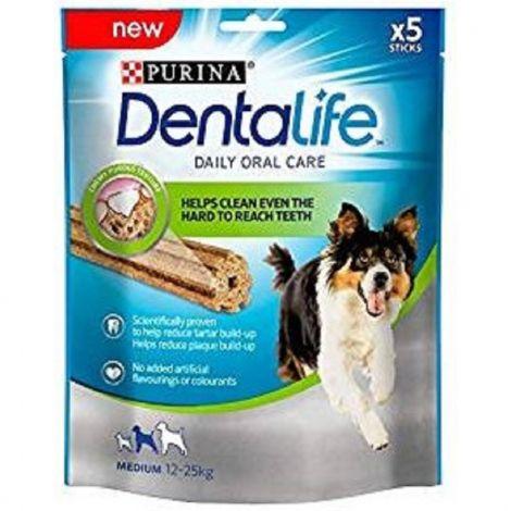 Purina Dentalife medium 115g/5ks 94