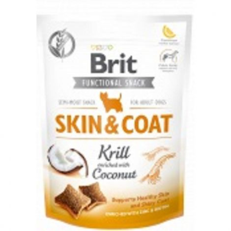 Brit care dog Functional snack Skin Coat Krill 150g