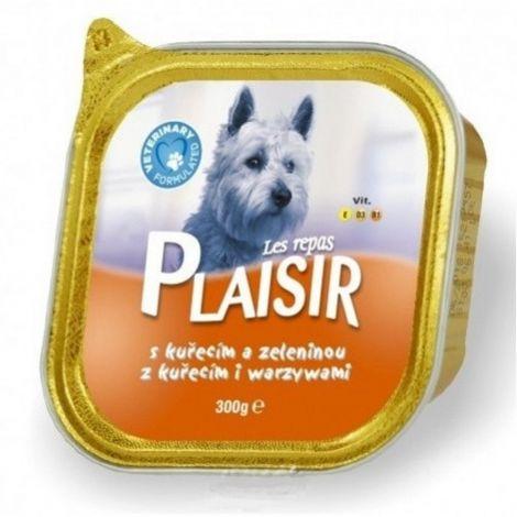 Plaisir dog 300g kuřecí+zel.vanička/18ks