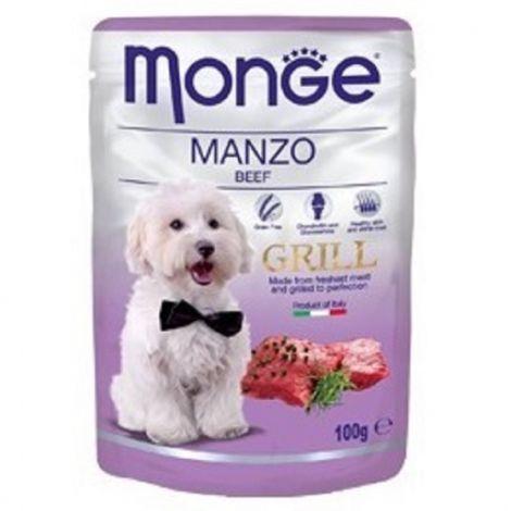 Monge grill 100g dog kaps.hovězí 1ks/24ks