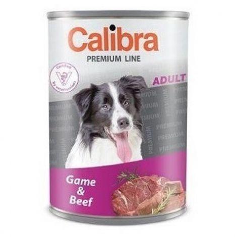 Expirace Calibra dog  800g zvěřina+hovězí premium adult