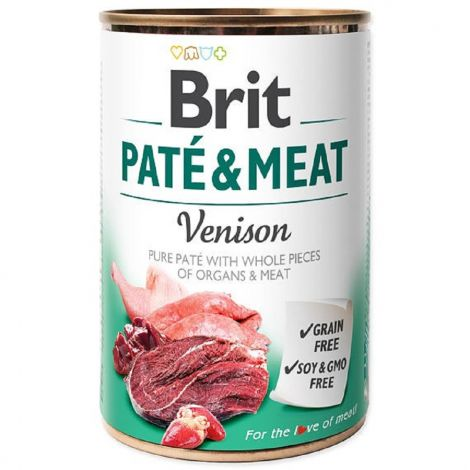Brit Paté Meat 800g Venison 94