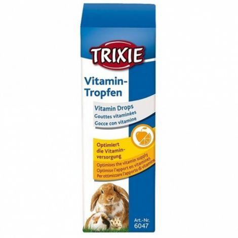 Vit.kapky 15ml pro hlodavce Trixie