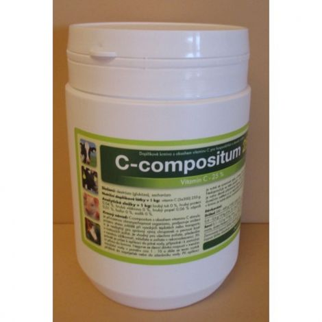 C-Compositum 25  100g,doplňkové krmivo s vitamínem C