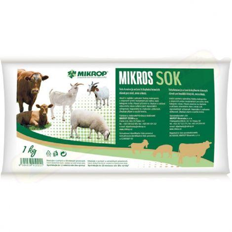 Mikros 1kg SOK pro skot,ovce a kozy -sáček