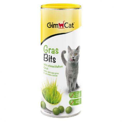 Gras Bits 65tabl.s trávou pro kočky 40g