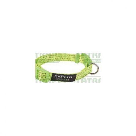Obojek nylon reflexní 2,0x30-45cm zelený