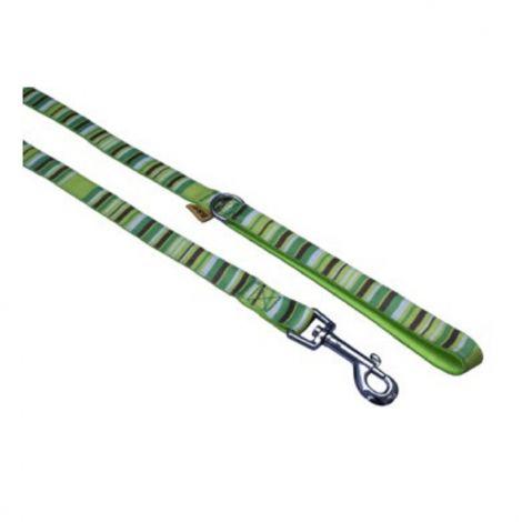 Vod.popruh 2,5x150cm proužky zelené