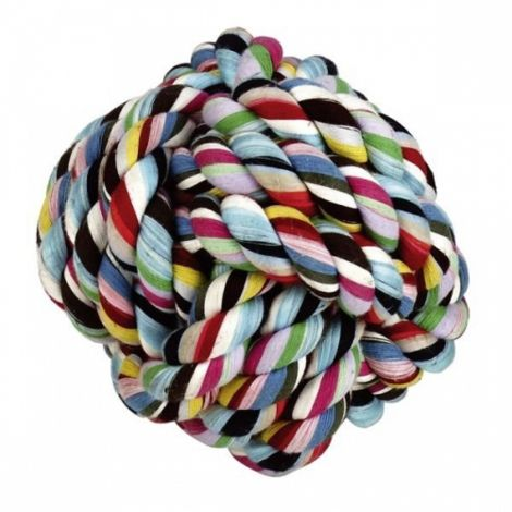 Míč bavlna 10,5cm aport barevný
