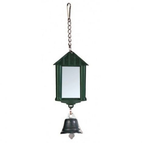 Ptačí lucerna se zrcadlem a zvonečkem Trixie