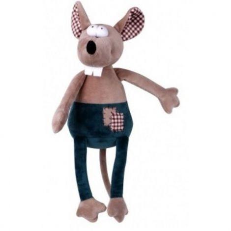 Plyš - myš pískací 30cm