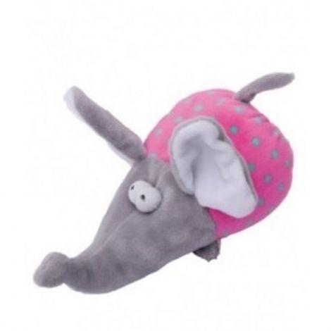 Plyš - slon  pískací 17cm