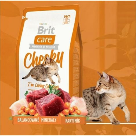 Expirace Brit Care 2,0kg cat Cheeky Living Outdoor