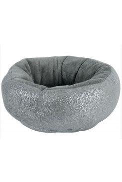 Pelech MADEMOISELLE kulatý šedá s glitry 45cm Zolux