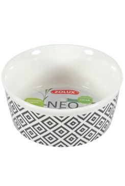 Miska keramická NEO hlodavec 250ml bílá Zolux