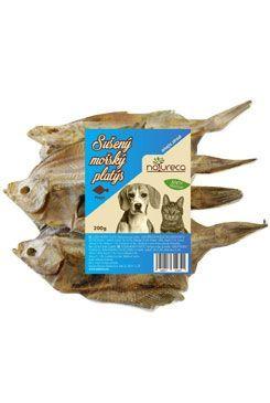 NATURECA pochoutka Platýs mořský sušený 200g