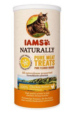 Iams Naturally Cat 100% kuřecí kostky 25g