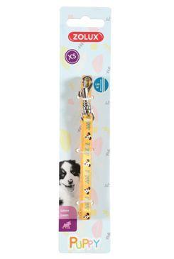Vodítko pes štěně MASCOTTE žlutá 8mm 1,2m Zolux