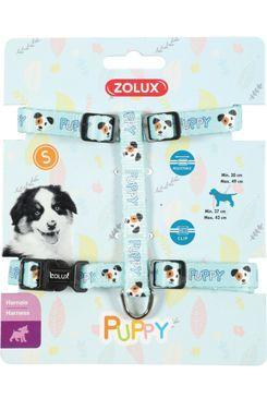 Postroj pes štěně MASCOTTE nastavitelný modrý 8mm Zolu