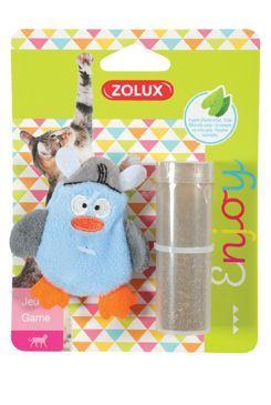 Hračka kočka PIRATE plnící+šanta modrá Zolux