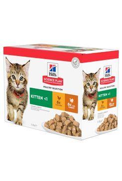 Hill's Fel. kapsa Kitten Chicken&Turkey(12x85g)