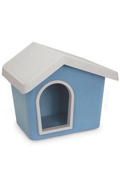 Bouda pro psa plastová modrá 53x46x47,6cm IMAC