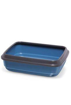 WC kočka z recyklovaného plastu modrá 50x40x14,5cm