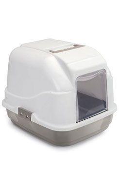 WC kočka s filtrem a lopatkou béžová 50x40x40cm
