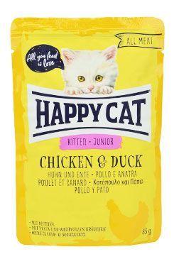 Happy Cat kapsa All Meat Junior Huhn&Ente 85g