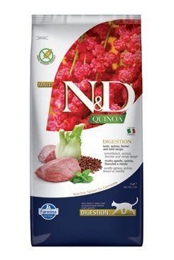 N&D GF Quinoa CAT Digestion Lamb & Fennel 5kg