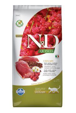 N&D GF Quinoa CAT Urinary Duck & Cranberry 5kg