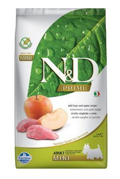 N&D PRIME DOG Adult M/L Boar & Apple 2,5kg