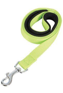Vodítko pes SOFT NYLON zelené 20mm/1m Zolux